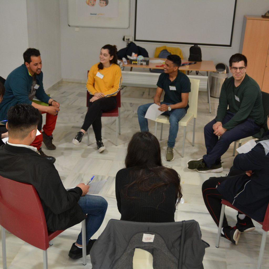 Grup de joves atesos per FEPA