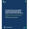 Proposta legislativa del Tercer Sector Social de Catalunya per la gestió de serveis públics d