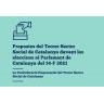 Propostes del Tercer Sector Social davant les eleccions al Parlament de Catalunya 14F2021